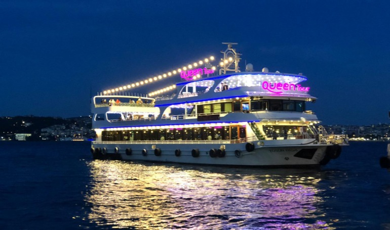 Dinner Cruise Bosphorus Tours ( Without Alcohol)